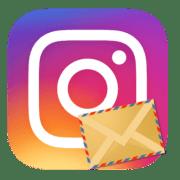Иконка директ в Instagram
