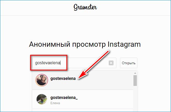 Имя пользователя Instagram